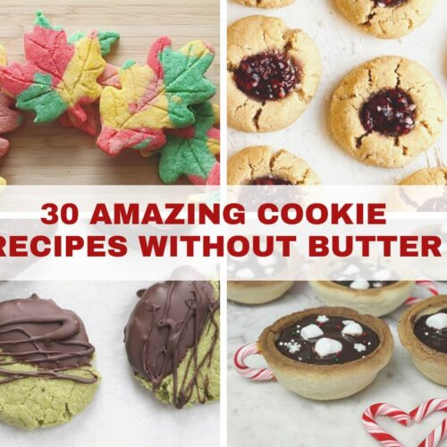 30 Amazing Cookie Recipes without butter