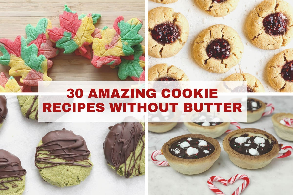 cookie recipes without butter