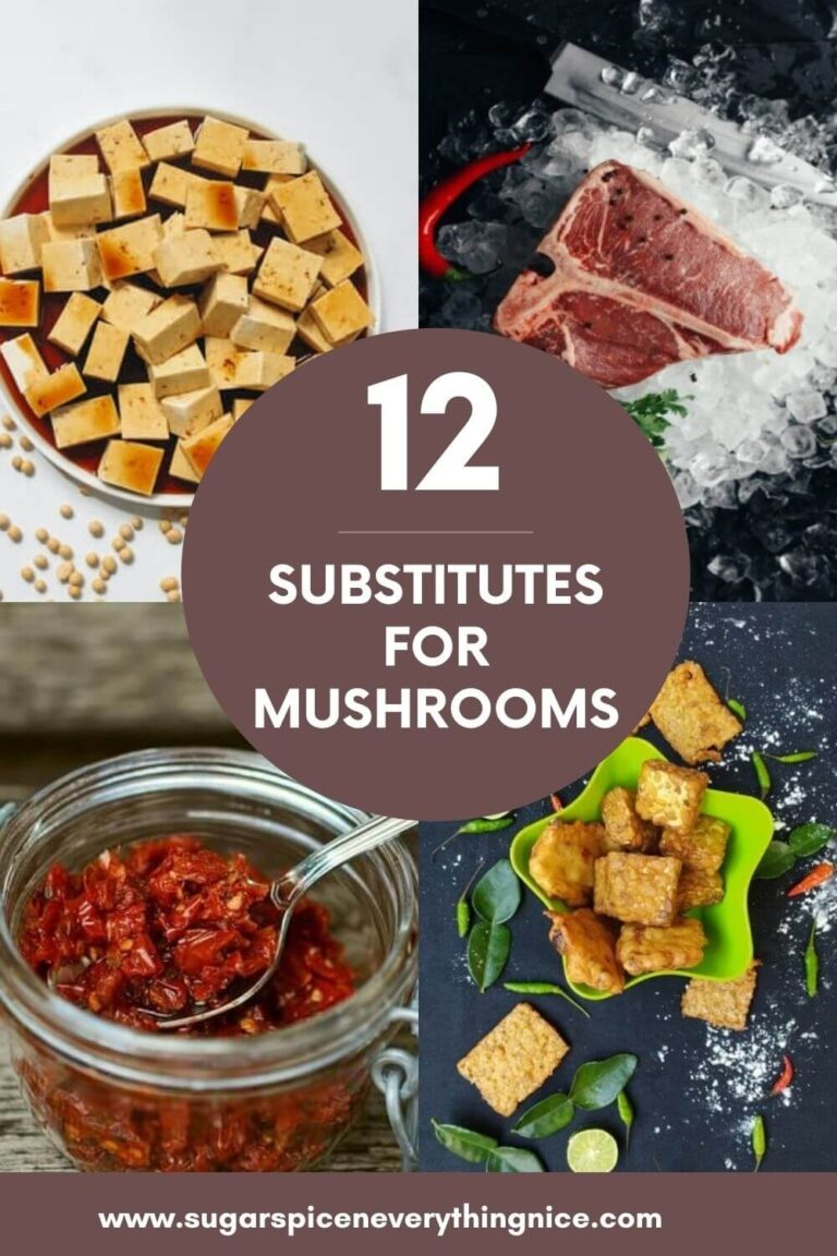 Substitue for Mushrooms PIN